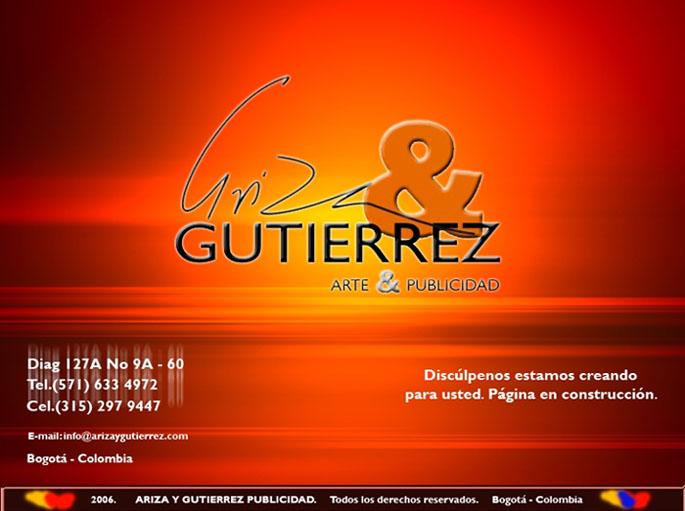 ARIZA Y GUTIERREZ PUBLICIDAD (Próximamente)